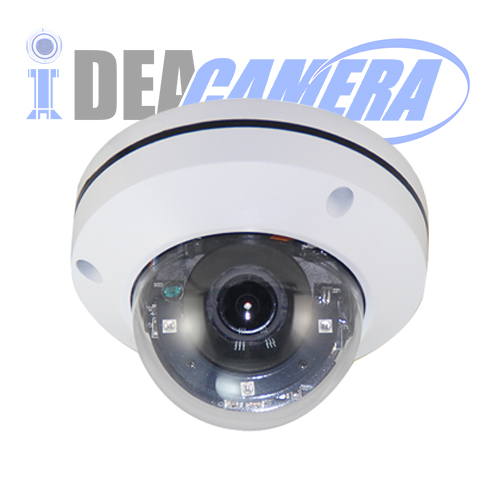 2MP 1080P 3X IR MINI PTZ Camera with 2.8-12mm Optical Zoom Lens