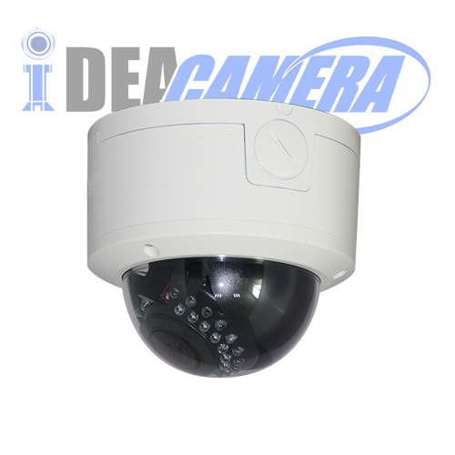 2MP H.265 Starlight IP Dome Camera,POE Optional,VSS Mobile APP