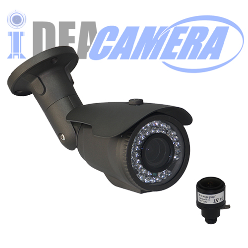 4K H.265 HD Waterproof IP Camera,3840*2160Pixels,VSS Mobile App,Face detection,POE