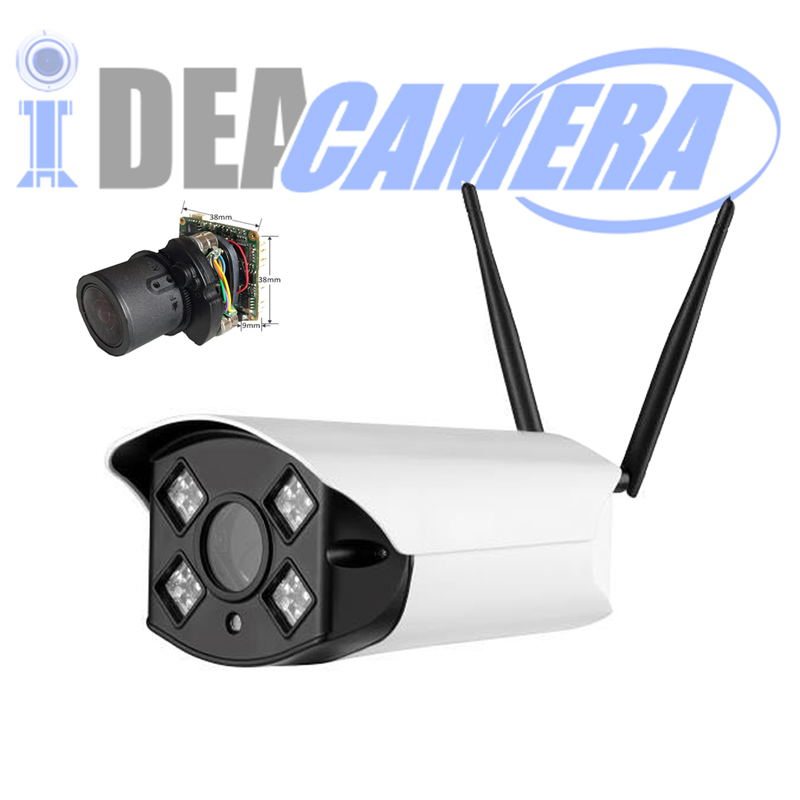 2MP Wifi IP Camera,4X Auto focus motorized lens 2.8-12mm,Day&Night in Color Vision,Camhi APP,Support 128G TF Card