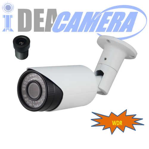 WDR IP Camera,2MP H.265 IP Bullet Camera,VSS Mobile App,P2P,POE optional