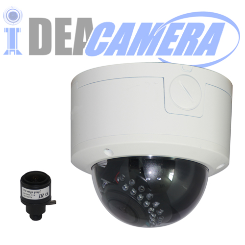 5MP IP Dome Camera,2560*1440@18fps,VSS Mobile App,POE optional,Face detection